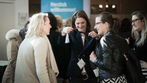 Gespräch unter Frauen auf der f.CON 2018