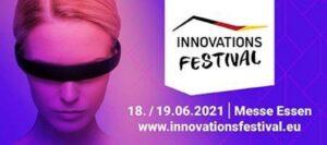 Sabine Hansen beim Innovationsfestival 2021